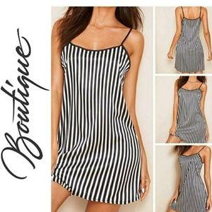 Other - 🎀Nwt Striped Satin Sleepwear